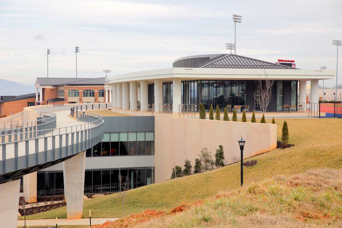 Liberty University's Athletic and Performance Center